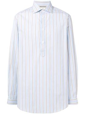 pinstripes shirt