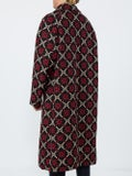 Gucci - Double-breasted Logo Wool Coat - Men