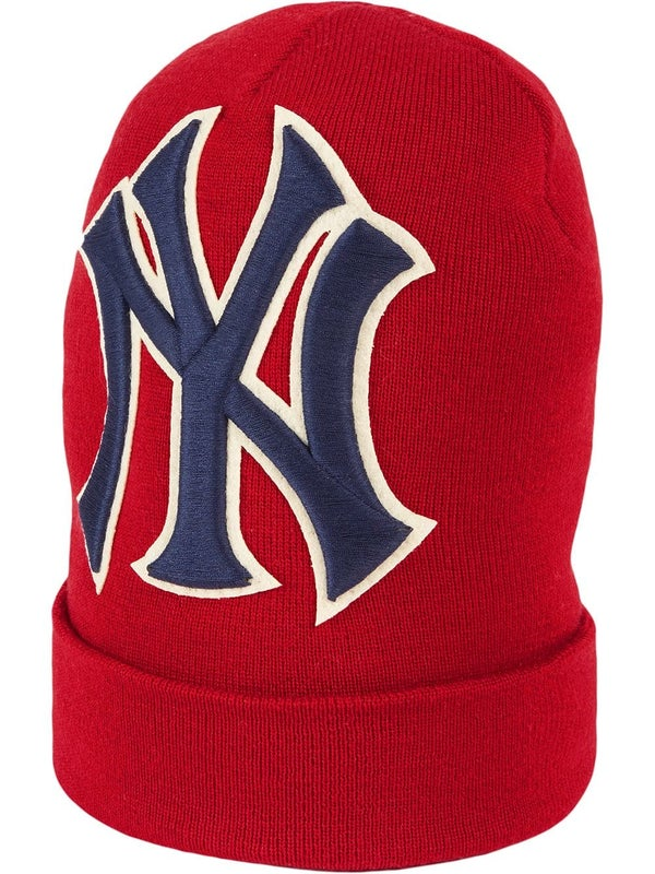 4b73b7a1f Gucci - Wool Hat With Ny Yankees' Patch - Women