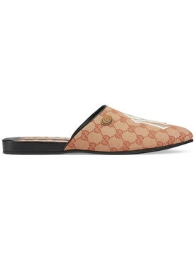 Gucci - Original Gg Slippers With Ny Yankees' Patch - Men