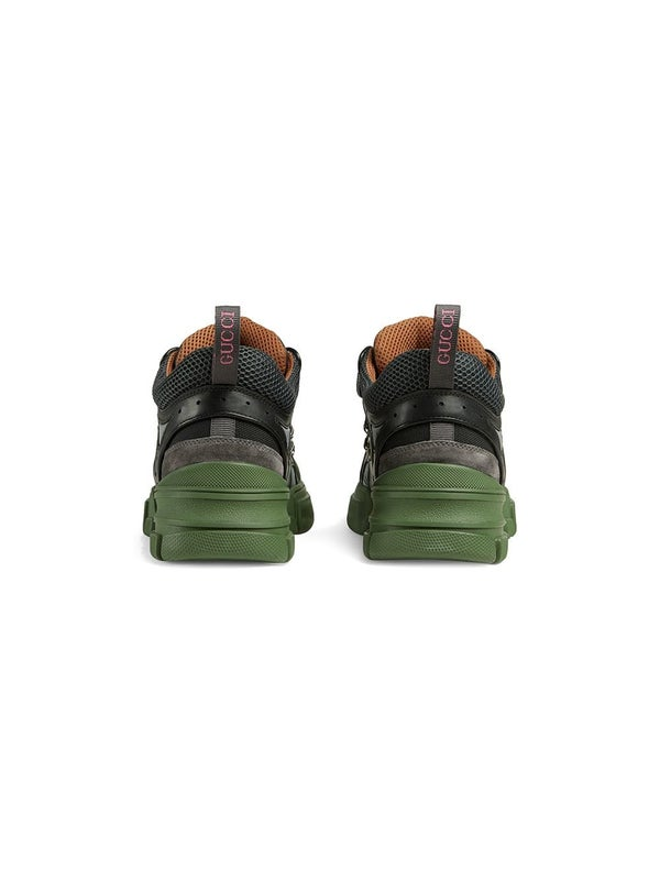 dc15cd5ec Gucci - Green Flashtrek Sneakers - Men