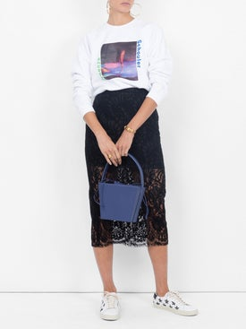 Stella Mccartney - Lace Midi Skirt - Midi