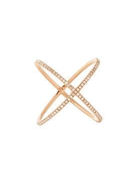 Eva Fehren - The X Ring 18kt Rose Gold - Women
