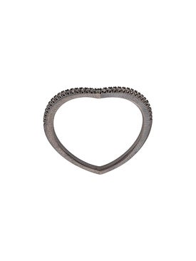 Eva Fehren - Private Ring 18kt Blackened White Gold - Women