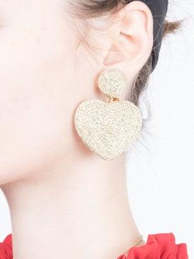 Rebecca De Ravenel - Cora Heart Earrings - Women