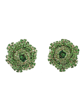 Emerald Ava earrings