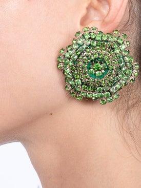 Rebecca De Ravenel - Emerald Ava Earrings - Women