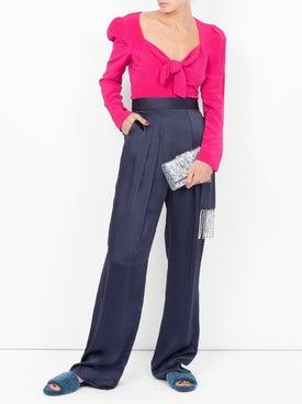 Rebecca De Ravenel - Tie Front Blouse - Women