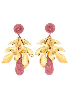 Rebecca De Ravenel - Purple Violetta Earrings - Women
