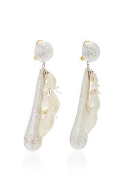 Rebecca De Ravenel - Violetta Silver Earrings - Women