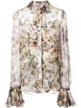 Floral blouse MULTICOLOR