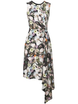 Adam Lippes - Floral Print Midi Dress - Women