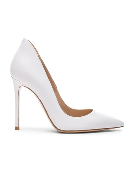 Gianvito Rossi - White Nappa Pumps - Women