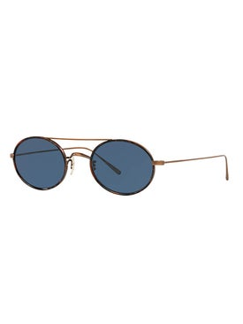 Oliver Peoples - Shai Round Sunglasses - Sunglasses