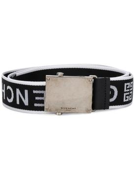 logo strap belt