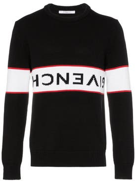 Givenchy - Upside Down Logo Sweater Black - Men