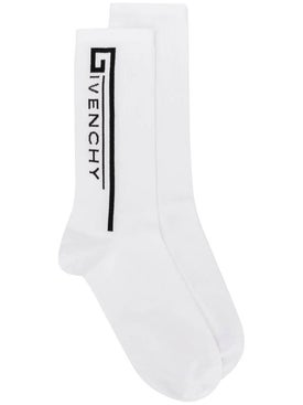 Givenchy - Logo Socks White - Women