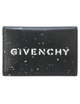 Givenchy - Logo Splatter Card Holder - Men