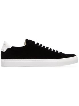 Givenchy - Urban Street Low Top Velvet Sneakers Black - Men