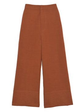 Co - Tapunto Hem Pants - Women