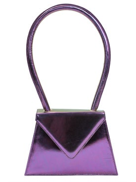 Amelie Pichard - Flat Metallic Purple Bag - Women