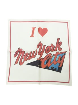 Amelie Pichard - I Love New York Postcard Scarf - Women