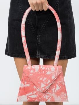 flat tie dye bag