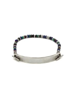 9mm ID bar bracelet SILVER
