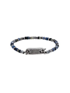 M. Cohen - 9mm Silver Plated Bracelet - Men