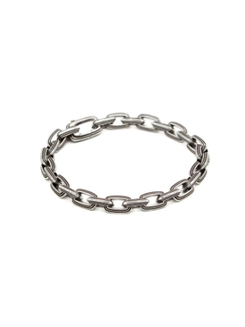 7mm chain link bracelet SILVER