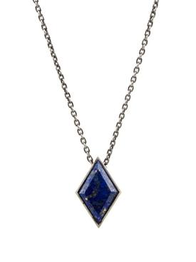 large gemstone locket