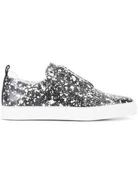 Pierre Hardy - Slider Printed Slip-on Sneakers - Men