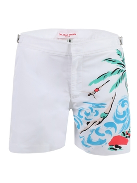 Setter Island Divers Swim Trunks
