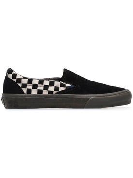 Vans - Vault Slip On Checkerboard Suede Sneakers - Men