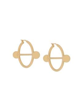 J.w. Anderson - Disc Hoop Earrings - Women