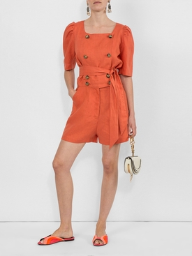 Diana playsuit ORANGE