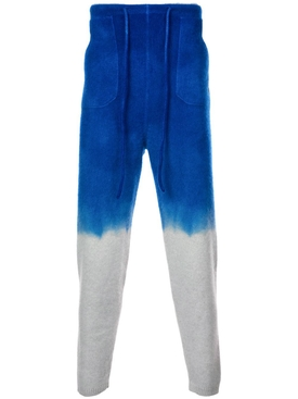 dip dye track pants