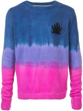 The Elder Statesman - Gradient Fitted Sweater - Men