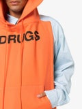 Raf Simons - Drugs Printed Sleeveless Hooded Pannel - Men