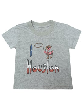 The Webster Kids - I Love Houston T-shirt - Women