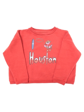 I Love Houston Sweatshirt RED