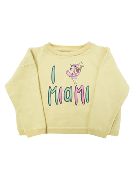 I love Miami Sweatshirt YELLOW