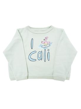 I love Cali Sweatshirt GREEN