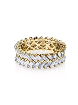 Anita Ko - Gold Zipper Ring - Women