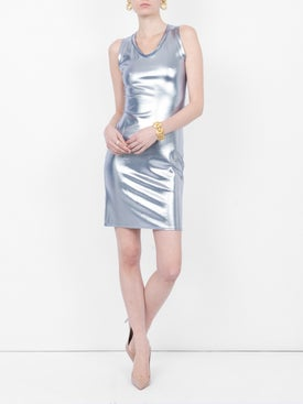 Alexandre Vauthier - Metallic Dress Silver - Women