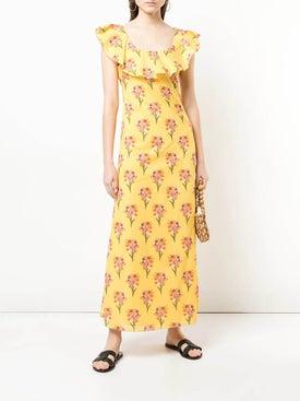 Borgo De Nor - Sleeveless Floral Maxi Dress - Women