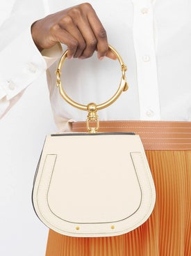 Chloé - Cream Nile Bracelet Bag - Women