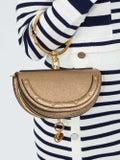 Chloé - Bronze Nile Minaudi're Handbag - Women