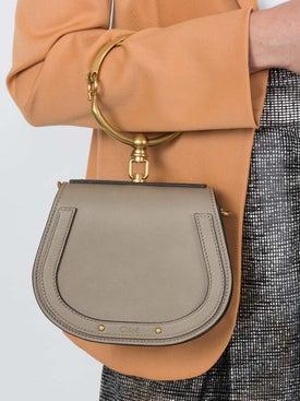 Chloé - Taupe Nile Bracelet Bag - Women