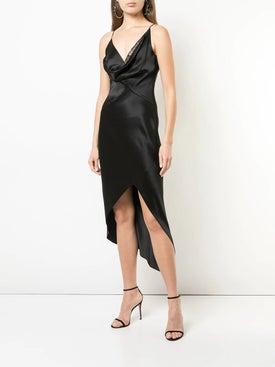 Cushnie - Cowl Neck Wrap Dress - Women